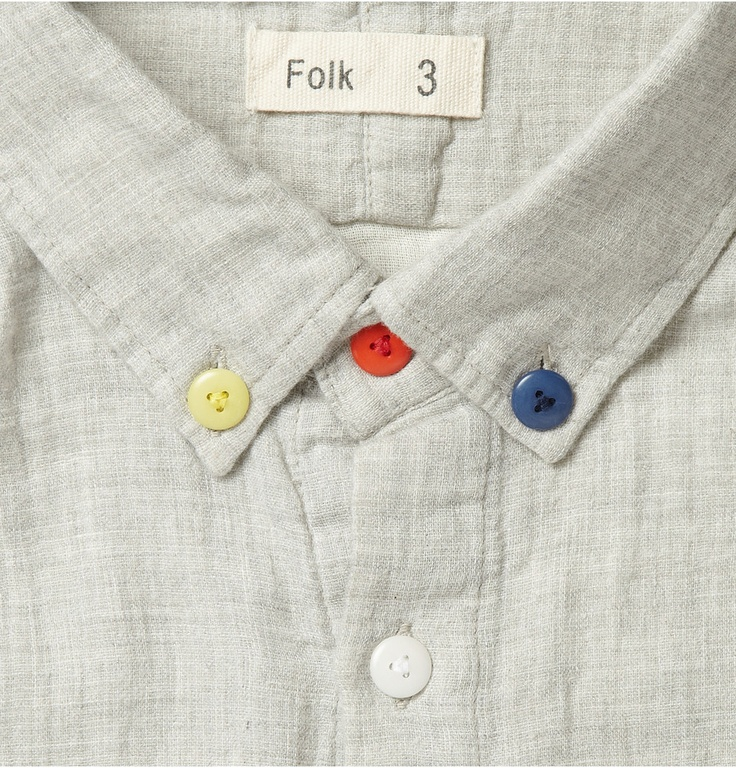 yes! take original buttons off clothing and sew different ones on