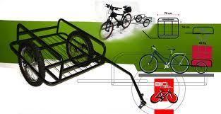 Carro trasero para la bicicleta