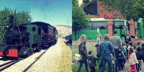 'Súbete al tren de vapor de Arganda' en Madrid