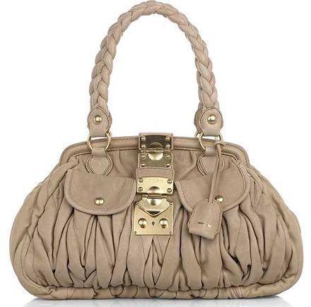 unique handbags | Designer Handbag Sale: Miu Miu Coffer