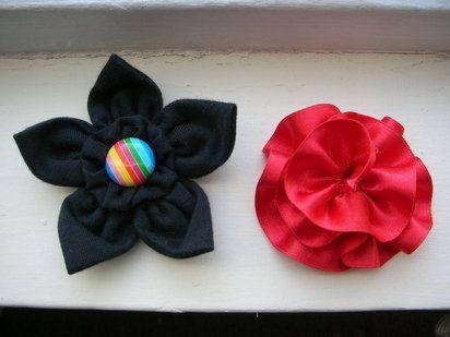 Flores hechas con tela   Aprender manualidades es facilisimo.com