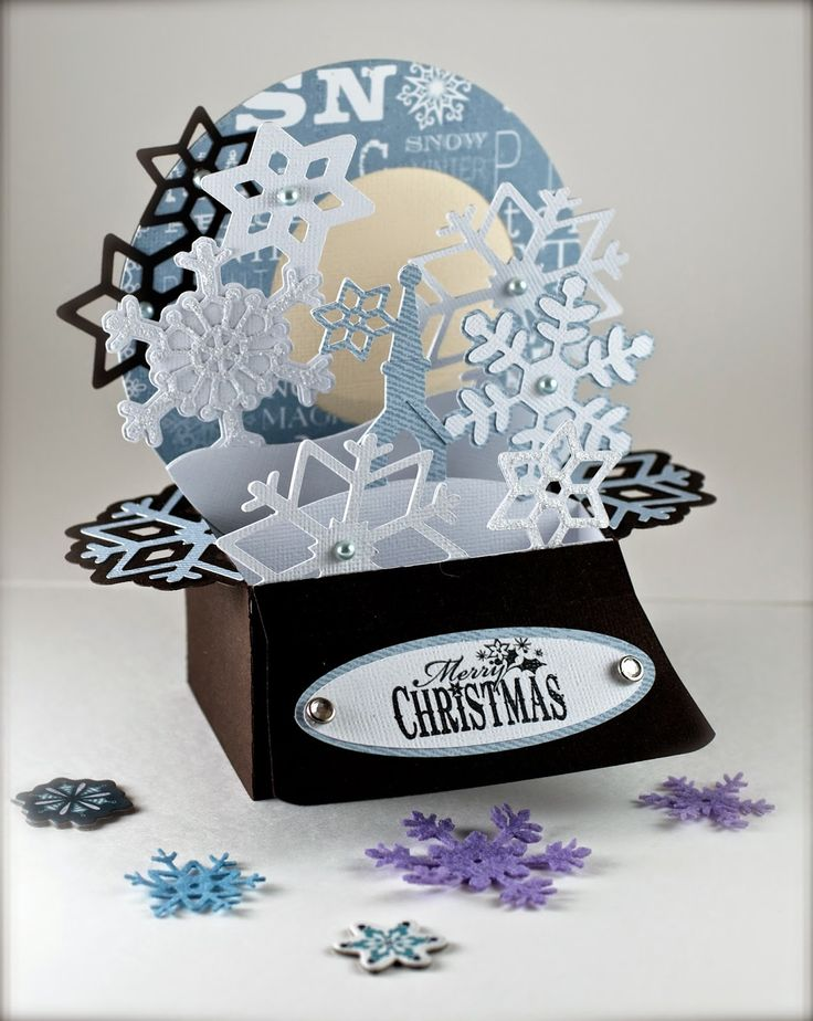 32 best Box cards images on Pinterest   Christmas cards, Craft and ...