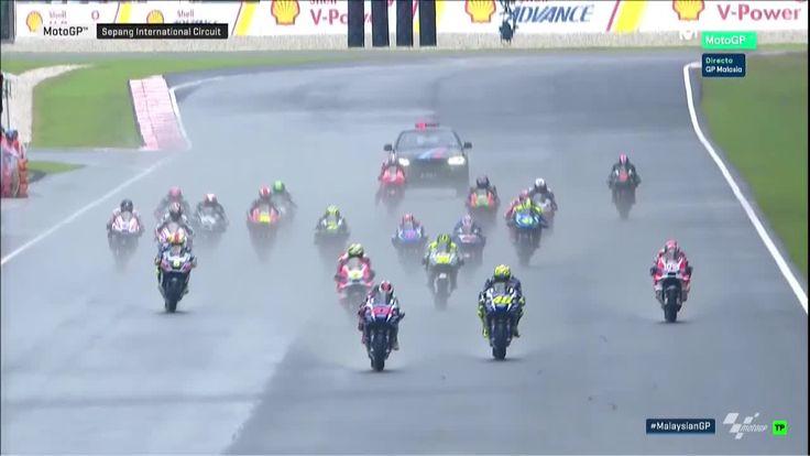 Malaysian GP Race - Warmup Lap
