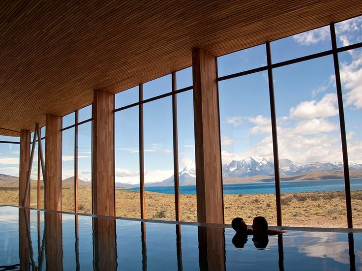 Spa in Torres del Paine