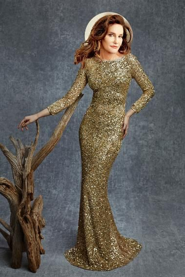 Every woman needs a golden moment and this Reem Acra dress is exquisite. The sequin is sassy, but the silhouette is 100% classic.