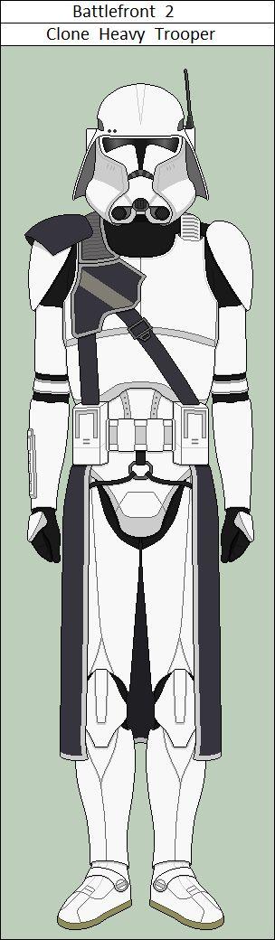 Battlefront 2 Clone Heavy Trooper by vidopro97