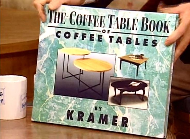(The Opposite) - [Kramer's coffee table book about coffee tables is finally going to be published, and he goes on Regis and Kathie Lee to promote it.]