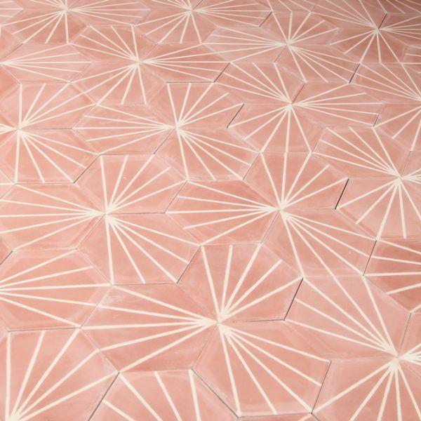marockanskt-kakel-heksagon-pink-1