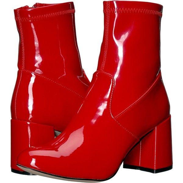Steve Madden Sania (Red Patent) Women's
