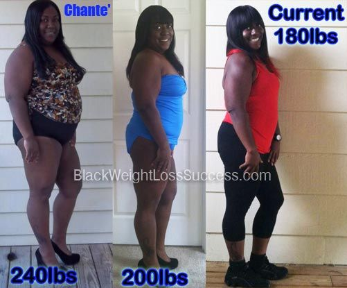 Chante Lost 60 Pounds