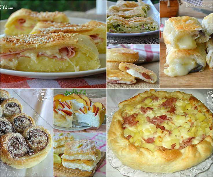 357 best ricette torte salate pane pizze c images on for Torte salate con pasta sfoglia