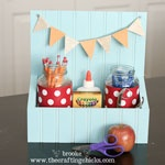 Thumbnail image for Beadboard School Supply Caddy