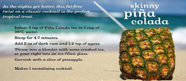 Skinny Pina Colada by DAVID'sTEA, via Flickr