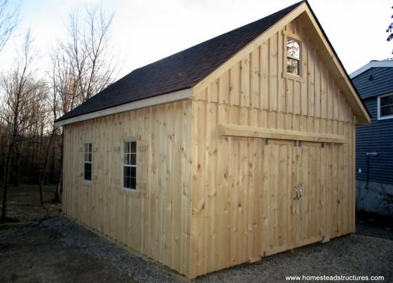16 X 20 Century A Frame 2 Story Shed With Board Batten Siding In 2020 Shed Carriage House Plans Backyard Sheds