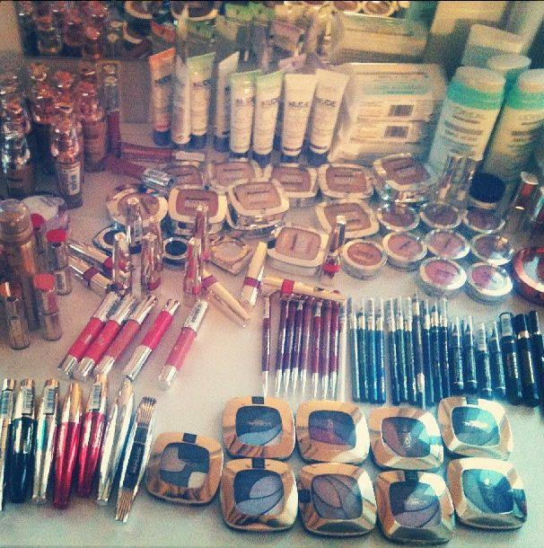 L'oreal Paris - Official Make Up Partner for Cannes 2013!   Don't you just love this spread?