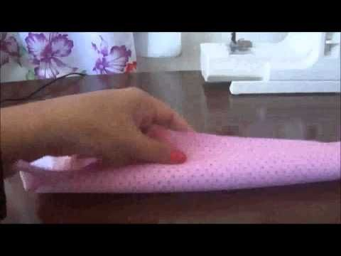 Barrado de Pano de Prato Rocambole - Faça Você Mesmo! - YouTube