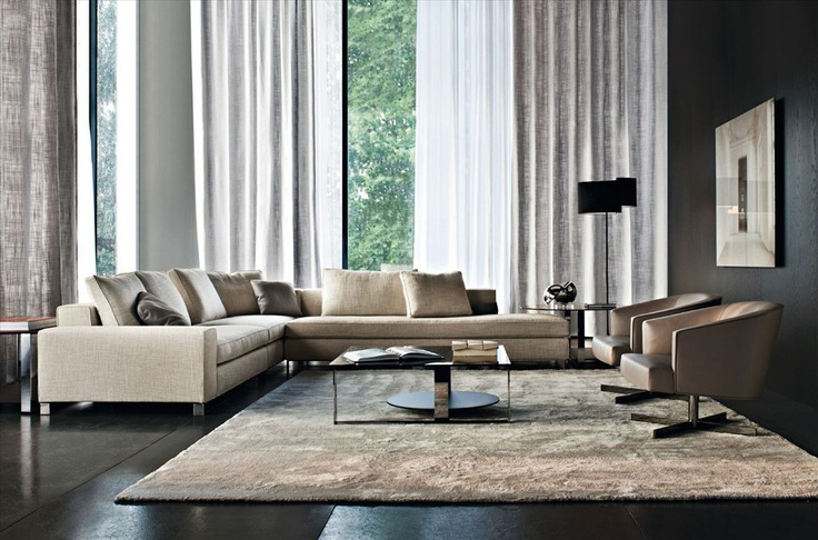 minotti sofa living room pinterest ipad linen. Black Bedroom Furniture Sets. Home Design Ideas
