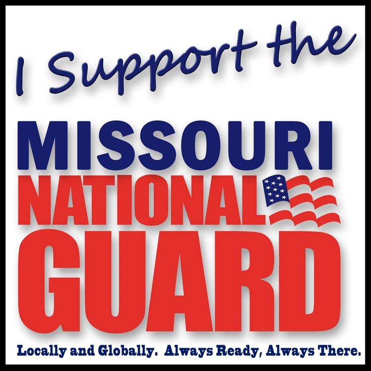Support #MoGuard #Military #NationalGuard
