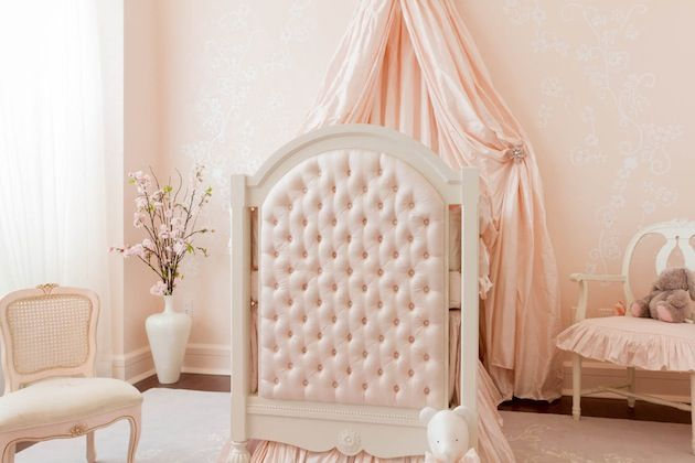 Una habitación de princesa.