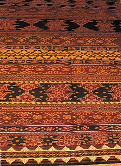 Ikat Weaving from Flores Islands, Indonesia