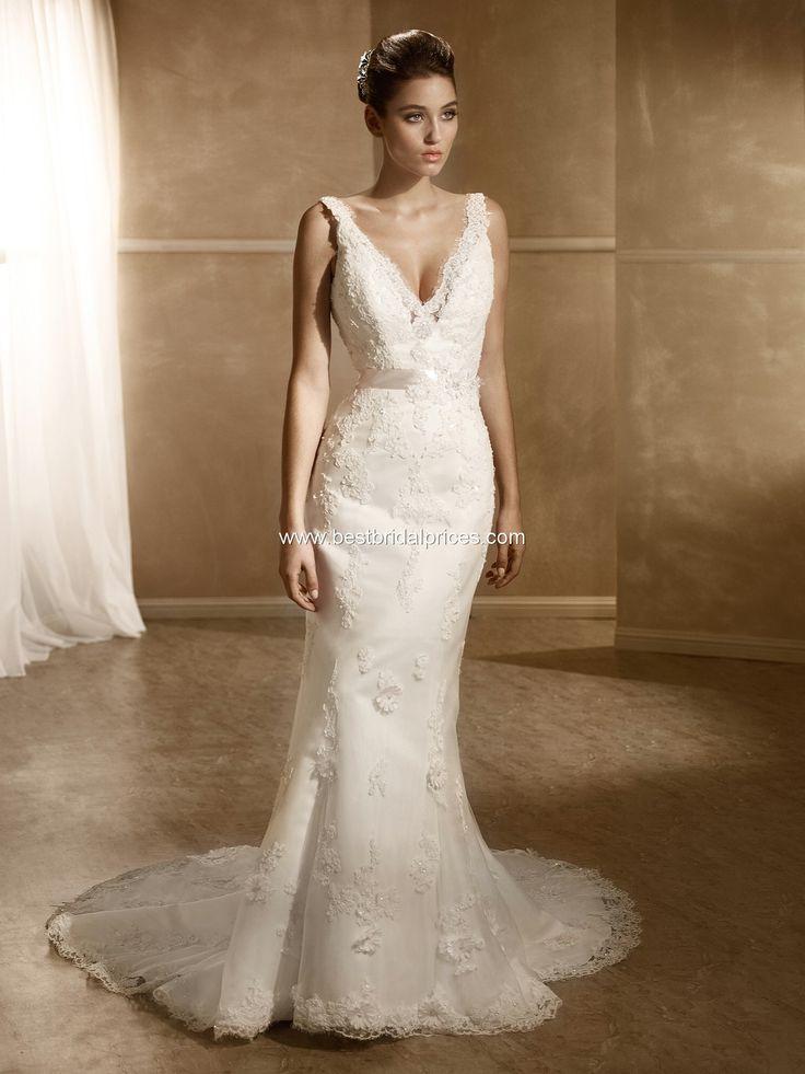 Mia Solano Wedding Dresses - Style M1219Z #lace #weddingdress