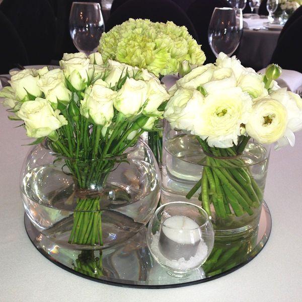 Wedding table decoration. For more wedding flower designs go to www.naomijones.com.au.