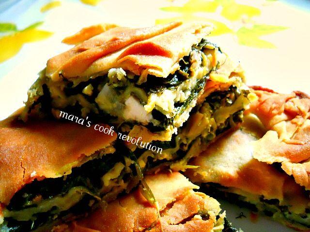 mara's cook revolution: Σπανακοτυρόπιτα χωριάτικη