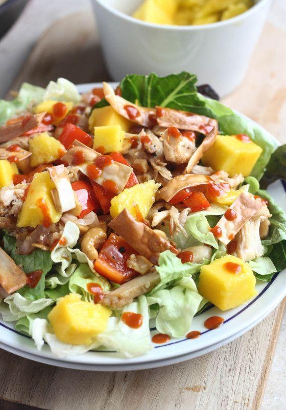 Mango Cashew Chicken Salad
