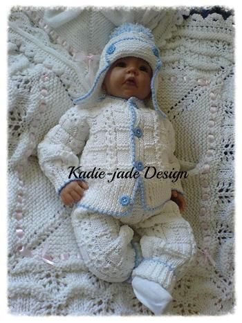 No 96 Kadiejade Knitting Pattern