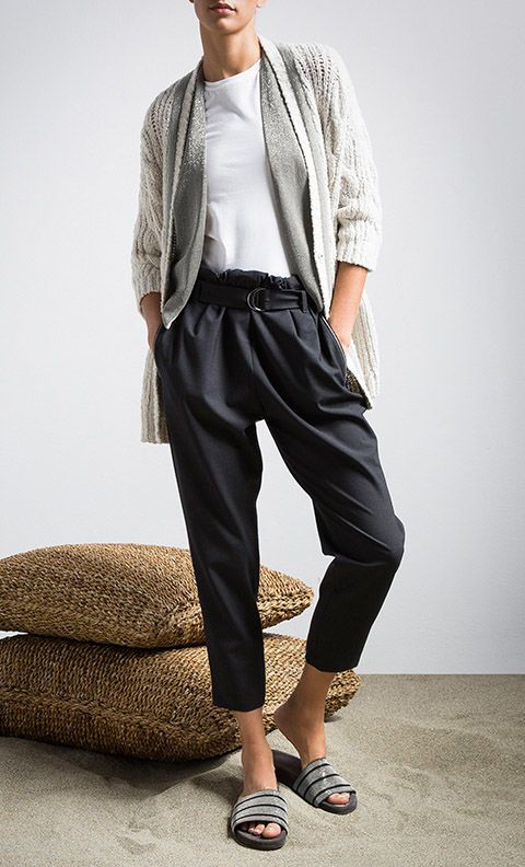 Brunello Cucinelli Online Boutique. Spring Summer 2015 Women. Worldwide delivery.