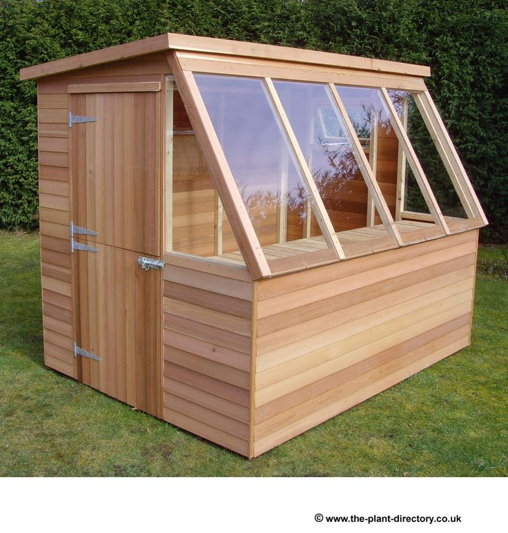 Garden Shed Greenhouse Combo - Imageck