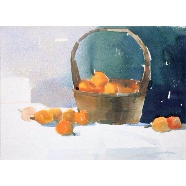 Watercolor by Zhao Zhiqiang