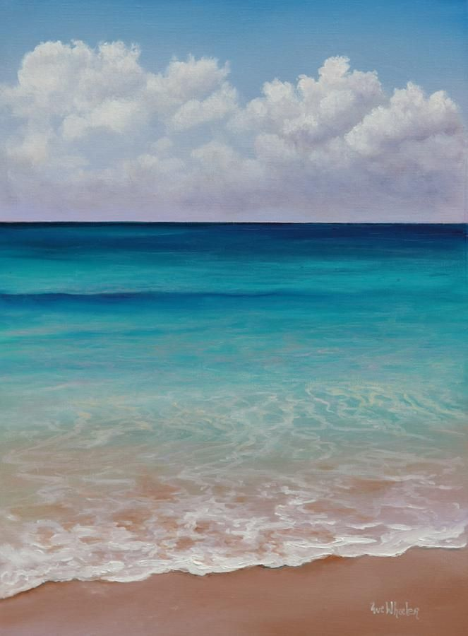 Seven Mile Beach Painting  - Seven Mile Beach Fine Art Print