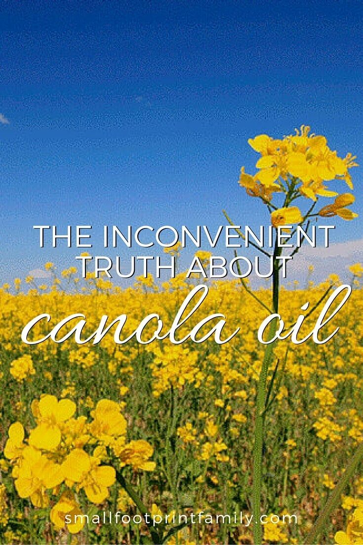 "They say canola oil is ""heart healthy"" and similar to olive oil. Nothing could be further from the truth. Canola oil is, in fact, quite bad for you. Here's why..."