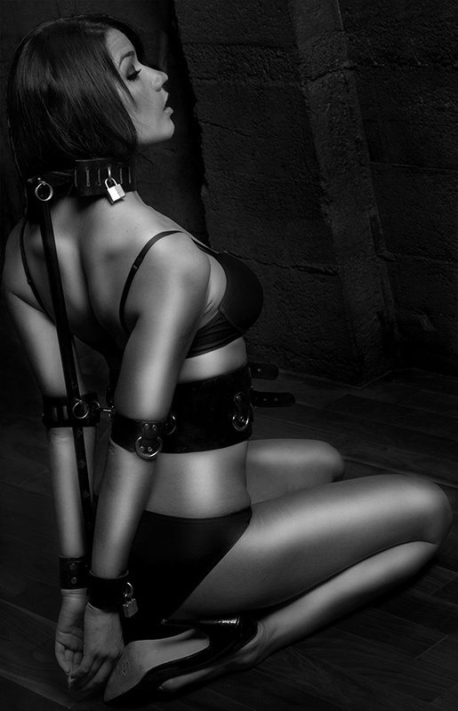 Soft submissive erotic woman