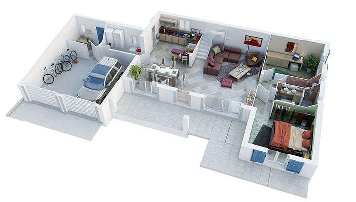 maison provencale esterel rdc villas trident Casa Pinterest
