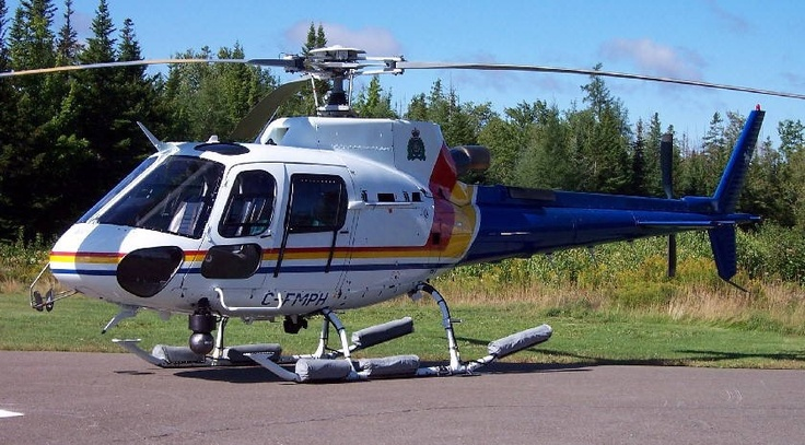 RCMP Police Helicopter