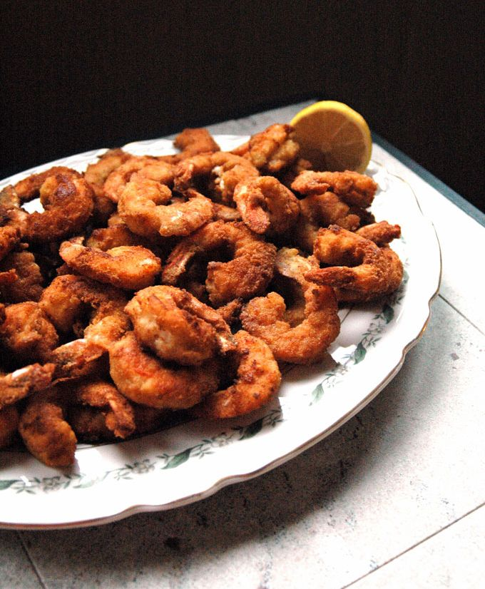 Jumbo Fried Shrimp - Cooking with Mamma C