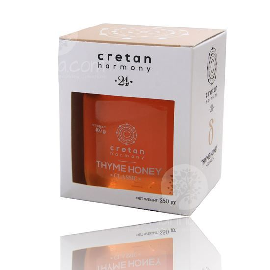 We have selected a unique organic thyme honey from the famous Siteia NATURA area.