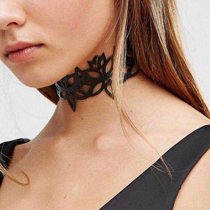 Moda takı moda serin bez Dantel Dövme gerdanlık kolye kadınlar için kız sevgililer Günü hediyeniz lovgift N2005