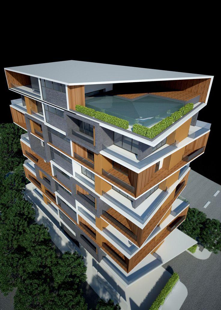 Service Apartment @ Sayar San Road Yangon Myanmar by ZPACEZ + ARCHIPLUS