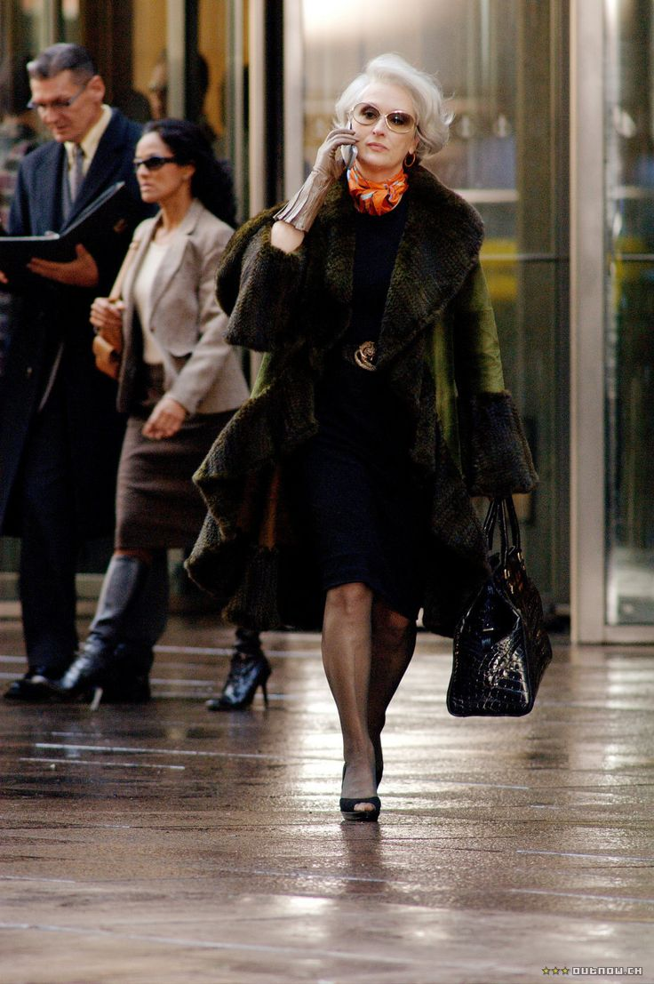 #MerylStreep as #MirandaPriestly;  #2006 #TheDevilWearsPrada; #ProductionStill; 930x1400px