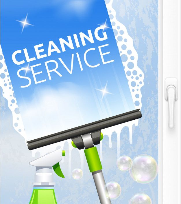 Download Window Cleaning Service Concept For Free Window Cleaning Services Event Poster Template Window Cleaner
