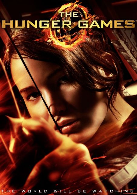 WE are giving away a copy of Hunger Games on DVD