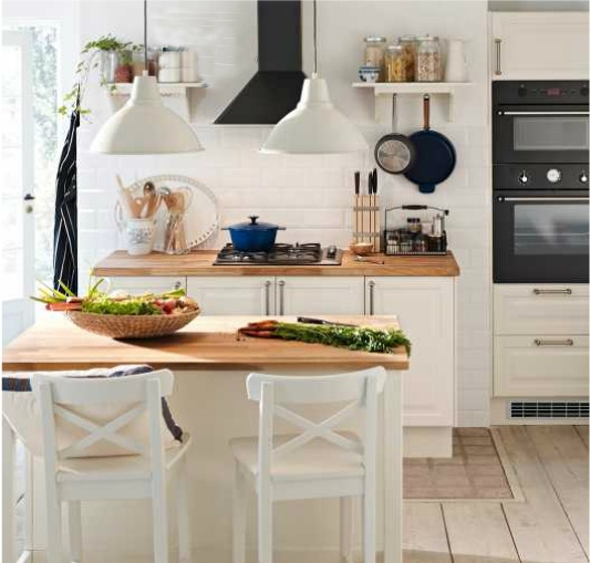 Cuisine ikea paktum linding blanc deco cocinas - Hotte cuisine ikea ...