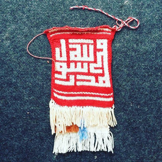 Did not match expectations, trying to combine the fair isle #knitting with different weaves the tapestry crochet with #weaving :-( #mydesign #lelakiperajut #breien #fairisle #calligraphy #knitweave #knitweavecalligraphy #islamiccalligraphy #kufi #kaligrafirajut #rajutersboy #AmatiTiruModifikasi #observeimitatemodification #art #yarnart #karenaakuinginbisa #akupastibisa #ayokreatif #indonesianknitter