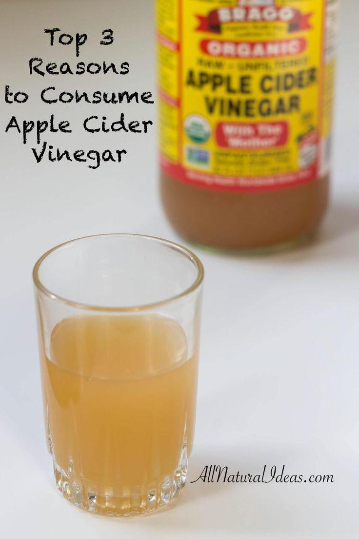 benefits of drinking apple cider vinegar daily