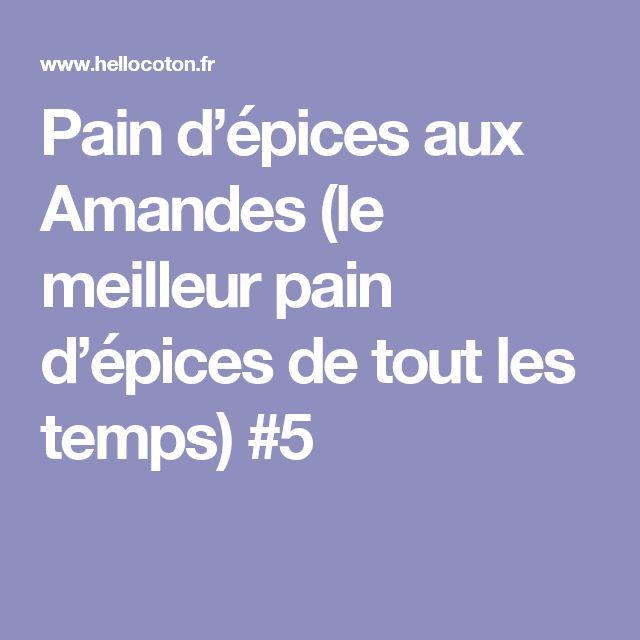 Pain d'épices aux Amandes (le meilleur pain d'épices de tout les temps) #5