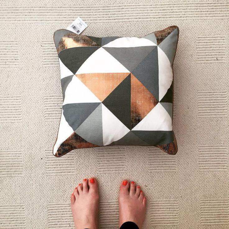 next copper cushion