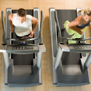 The 500-Calorie-Burning Treadmill Workout. Easy intervals between 5-7.5 mph.